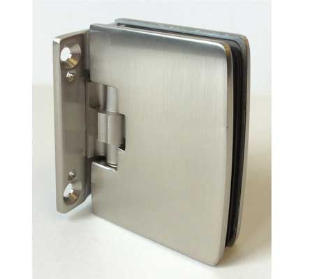 glass to wall hinge Ferdor for frameless glass doors