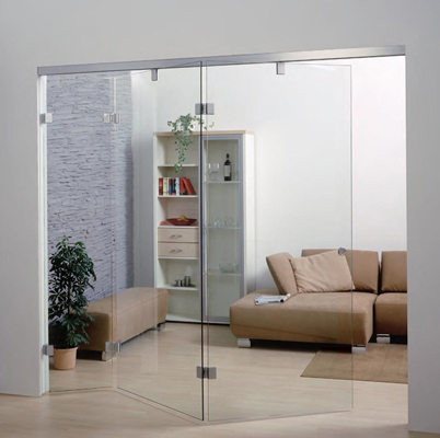 centre fold folding glass door