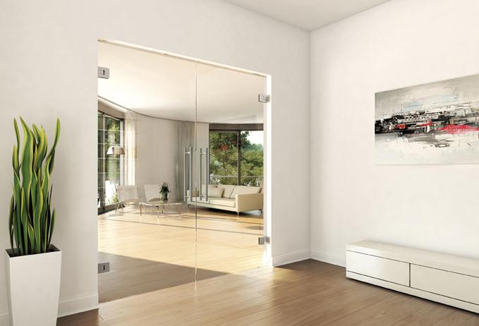 Gallery Frameless Full Glass Doors Glaswerk