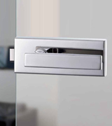 image link to latch, lock and handle options for single action doors