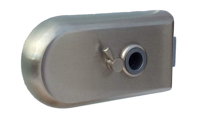 Design range glass door lock options