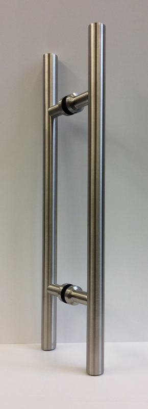 EK4 stainless steel pull handle for glass