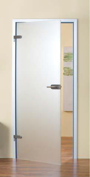 satin opaque glass doors