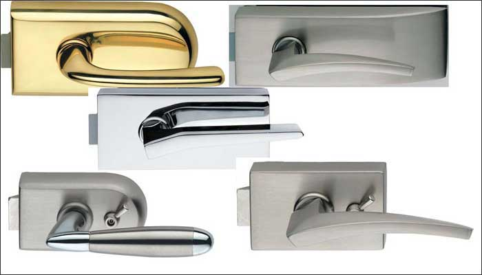 Latch Lock And Handles For Full Glass Doors Glaswerk